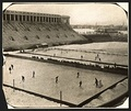 Hockey was played in Harvard Stadium until World War I