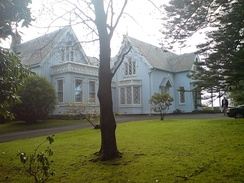Highwic house, former homestead, now a function venue at the southwestern edge of Newmarket.