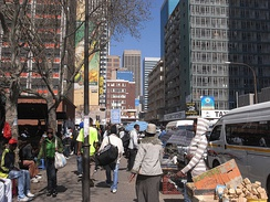 Park Station in downtown Johannesburg in 2009
