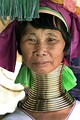 The Kayan people of Burma (Myanmar) associate the wearing of neck rings with feminine beauty.[66]
