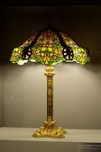 Lamp and lampshade made of Tiffany glass; circa 1890-1900; Budapest Museum of Applied Arts (Budapest, Hungary)