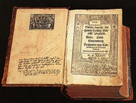 Luther's translation of the Bible, from 1534