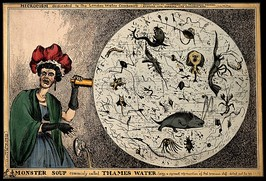 """Monster Soup commonly called Thames Water"" (1828), by the artist William Heath"