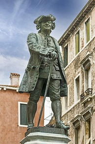 Carlo Goldoni, the most notable name in Italian theatre.