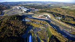 The Nürburgring GP-Strecke, where the race was held.