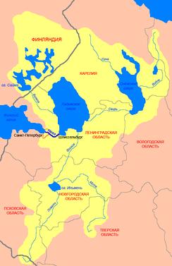 Бассейн реки Невы