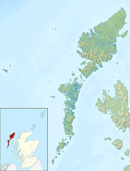 Barra is located in Outer Hebrides