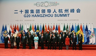 The EU participates in all G8 and G20 summits. (G20 summit in Hangzhou, 2016)