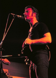 Fripp performing in 1974
