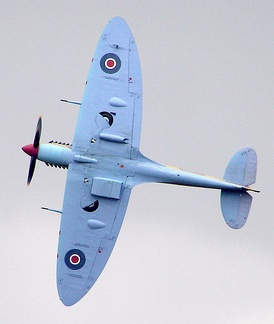 "The Spitfire wing may be classified as: ""a conventional low-wing cantilever monoplane with unswept elliptical wings of moderate aspect ratio and slight dihedral""."