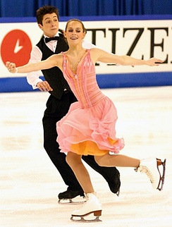 Virtue and Moir at the 2005 Junior World Championships