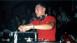 Tiësto at Columbiahalle in Berlin, 2003