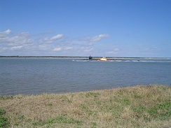St. Marys River seen from Fort Clinch, Florida