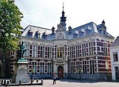 Utrecht University Hall (Academiegebouw), built in 1894.