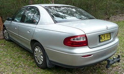 2000-2001 Holden Commodore (VX) Acclaim sedan