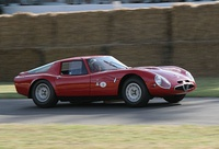"The ""Giulia TZ2"" from 1965, one of the most famous achievements of Autodelta."