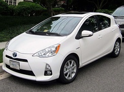 The Toyota Prius c was released in the U.S. in March 2012, and was launched in Japan as Toyota Aqua in December 2011.