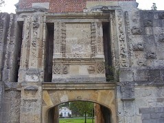 Gate of the Ravelin of Montrescu constructed from 1524 to 1531.