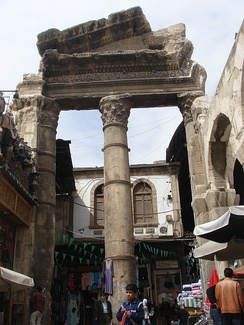 Remnants of ancient Damascus