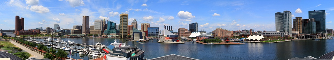 Inner Harbor Panorama.