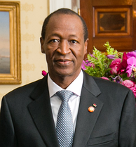 President Blaise Compaoré ruled Burkina Faso from a coup d'état in 1987 until he lost power in 2014.