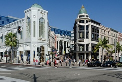 Rodeo Drive in Beverly Hills.