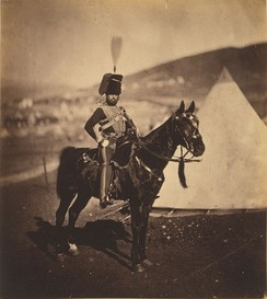 Cornet Henry John Wilkin, a British Hussar from the Crimean War