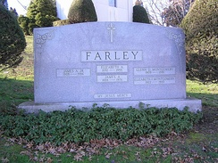 Farley's grave