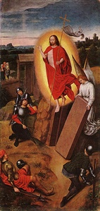 Resurrection of Christ by Hans Memling