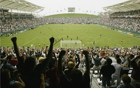 StubHub Center (in Carson, California) is the home of LA Galaxy and Los Angeles Chargers.