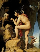 Ingres, Oedipus and the Sphinx