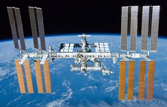 International Space Station, assembled in orbit by US and Russia