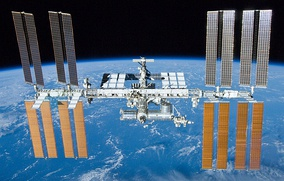 The International Space Station is used to conduct science experiments of outer space