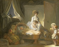 The Visit to the Nursery, c. 1775, National Gallery of Art