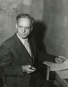 Ribbentrop in his cell at Nuremberg