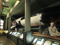 German V-2 rocket on display (2013)