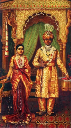 Child marriage in India. In 1900, Rana Prathap Kumari age 12 married Krishnaraja Wadiyar IV age 16. Two years later, he was recognized as the King of Mysore under British India.