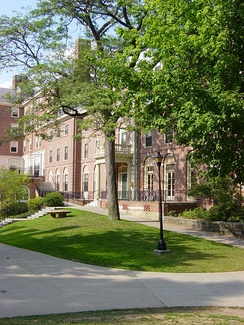 Miller Hall on the Pembroke Campus