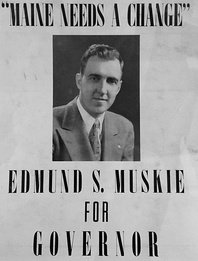 Muskie For Maine campaign for the governorhip of Maine