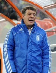 Legendary manager Otto Rehhagel, under whose guidance Greece were crowned European champions in 2004.