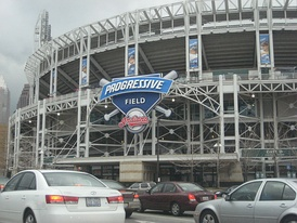 Progressive Field was the first retro park with a modern exterior