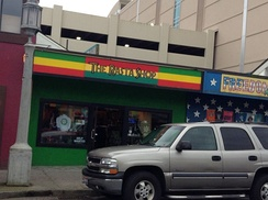 The Rasta Shop, a store selling items associated with Rastafari in the U.S. state of Oregon