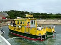 A water ambulance in the Scilly Isles