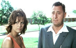 Cardinale with Alberto Sordi in A Girl in Australia (1971), which earned her the David di Donatello for Best Actress