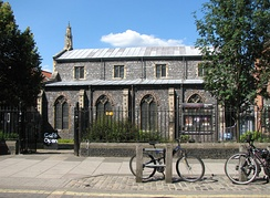 Norwich Arts Centre, opened in 1977, on St. Benedict's Street