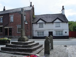 Cross and stocks, Market Place