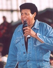 Chubby Checker performing in 2005