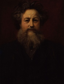 Portrait of William Morris, founder of SPAB, by William Blake Richmond