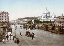 Знаменская площадь, конец XIX— начало XXв.