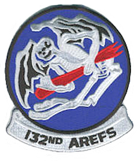 Legacy 132nd Air Refueling Squadron patch
